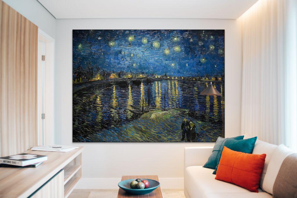van Gogh - Sterrennacht boven de Rhone