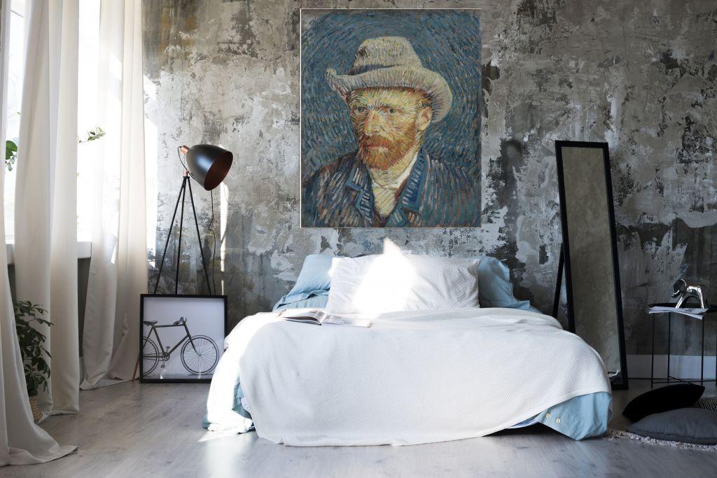 Grijze vilthoed - Vincent van Gogh