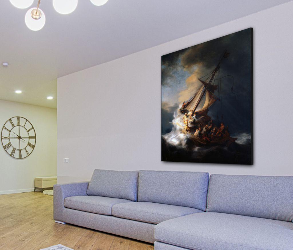 Rembrandt van Rijn - Storm op het meer van Galileas