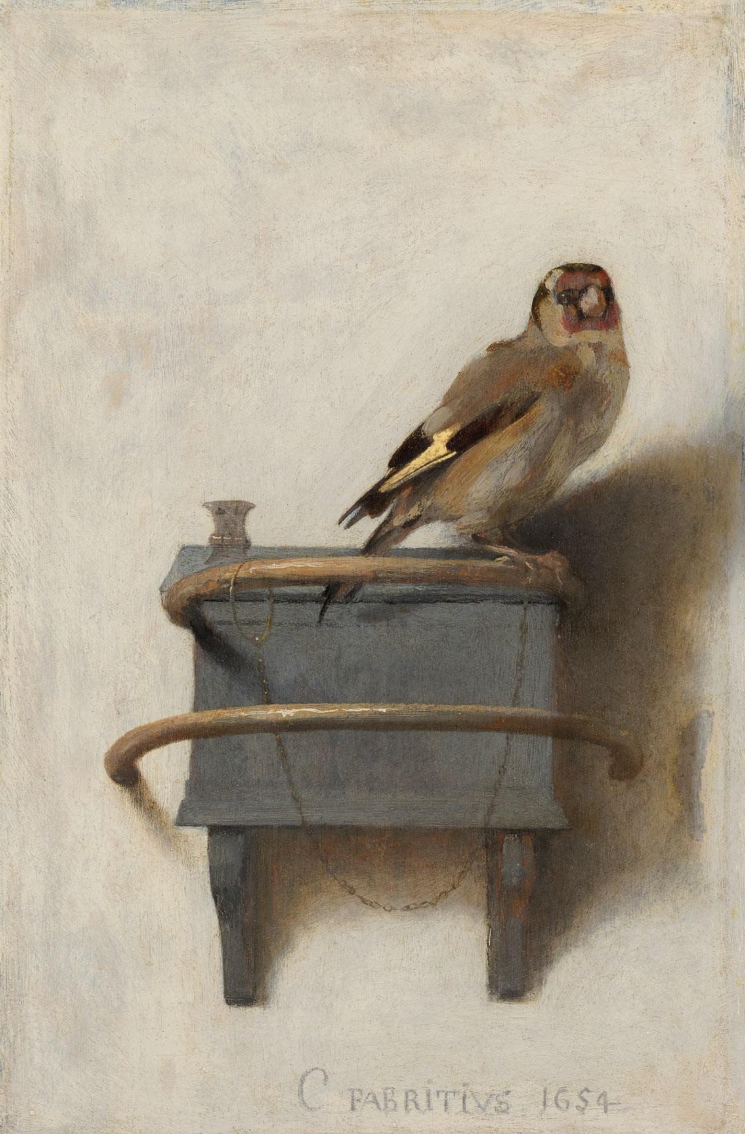 Het Puttertje - Carel Fabritius