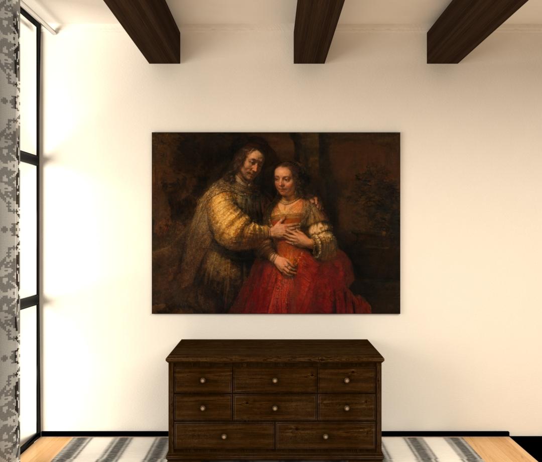 Het Joodse bruidje - Rembrandt van Rijn