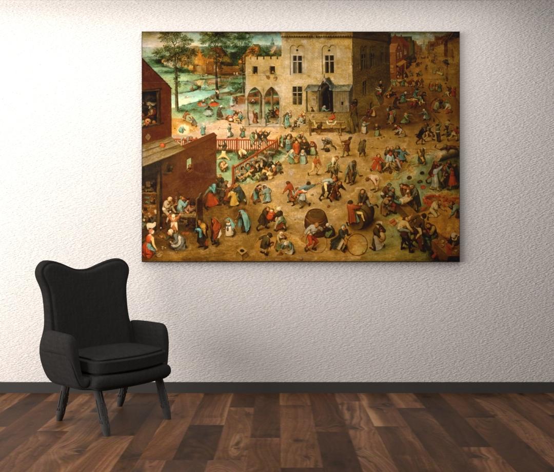 Kinderspelletjes - Pieter Bruegel de Oude