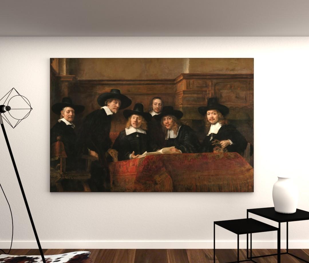 De staalmeester - Rembrandt van Rijn